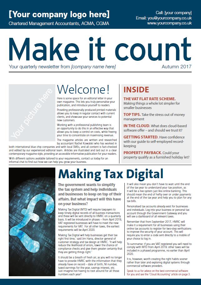 Make it Count Accountants Magazine